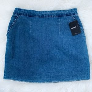 Forever 21 - Denim Skirt m, NWT